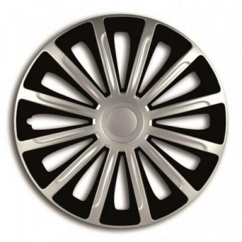 """PEUGEOT 106 13/"""" 13 Inch Car Wheel Trims Covers Black Silver"""
