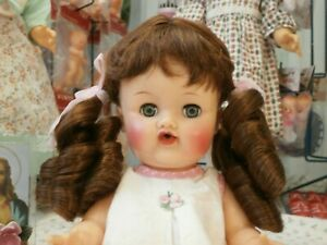 """Vintage Tallina/'s Doll Wig Style 71BS Size 9/"""" Color Auburn New Package"""