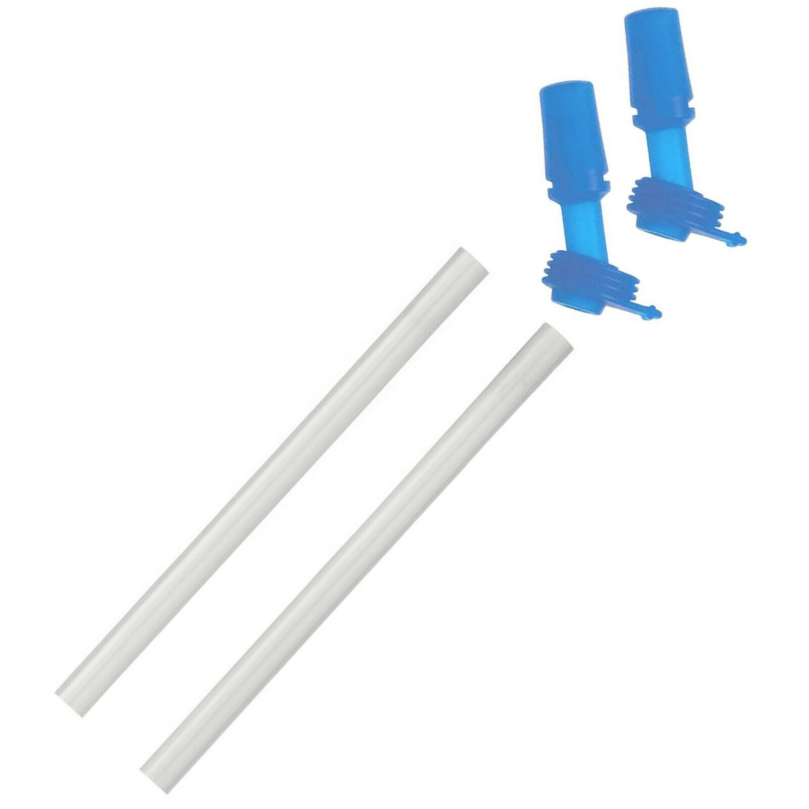 1 paire 2x Camelbak Eddy Kids Remplacement Morsure Vannes Et Pailles-Ice Blue