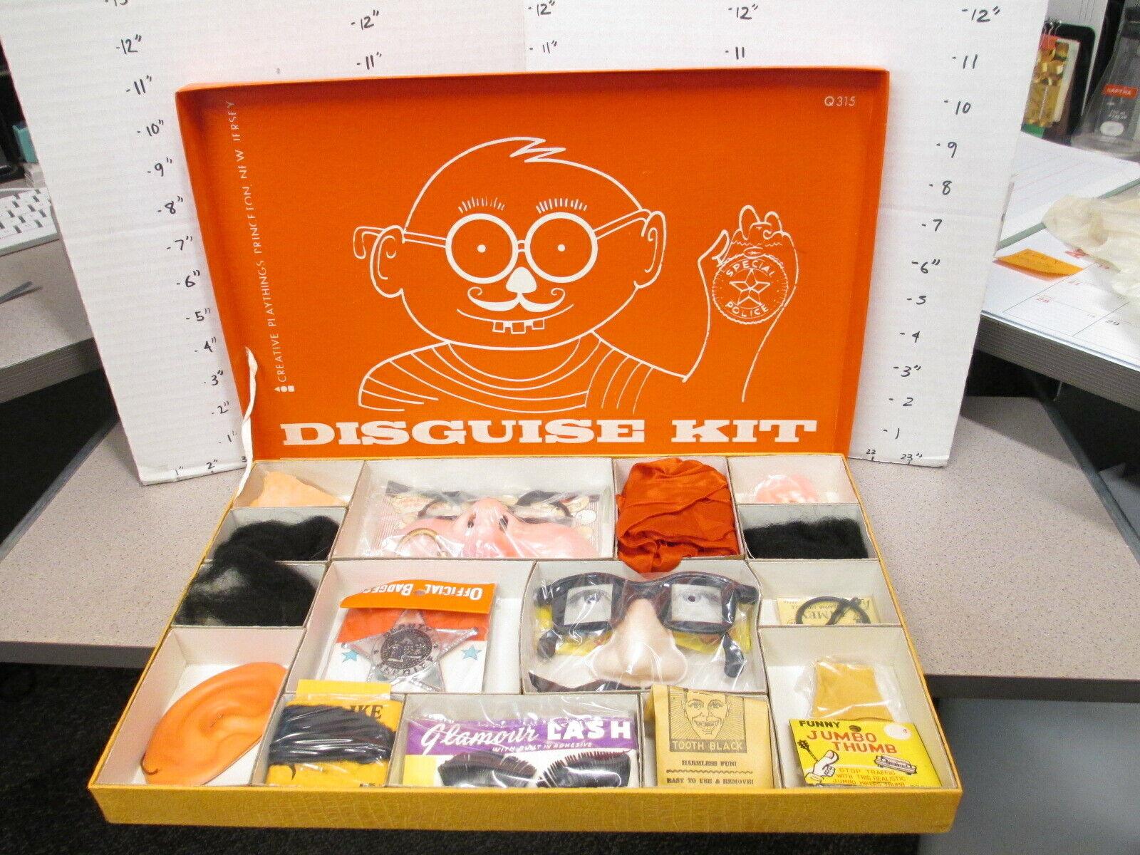 Kreativt Playboy 1960-talet DiskGUISE KIT Playsset Halloween maskeraddräkt flimmer eye