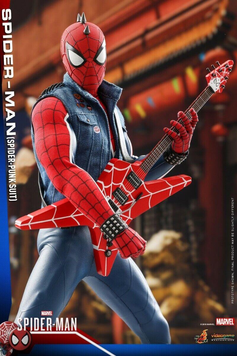 Calientegiocattoli  VGM32 PS4 gioco Series 1 6th Spider-uomo Spider-Punk Suit azione cifra  prezzi all'ingrosso