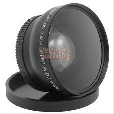 52 mm 0.45X Fisheye Macro Lens for Nikon D3000 D3100 D5000 D5100 7000D D3200