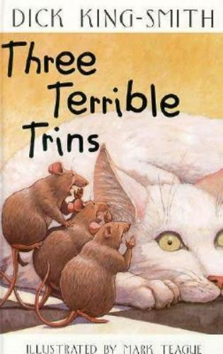 Three Terrible Trins by Dick King-Smith Paperback