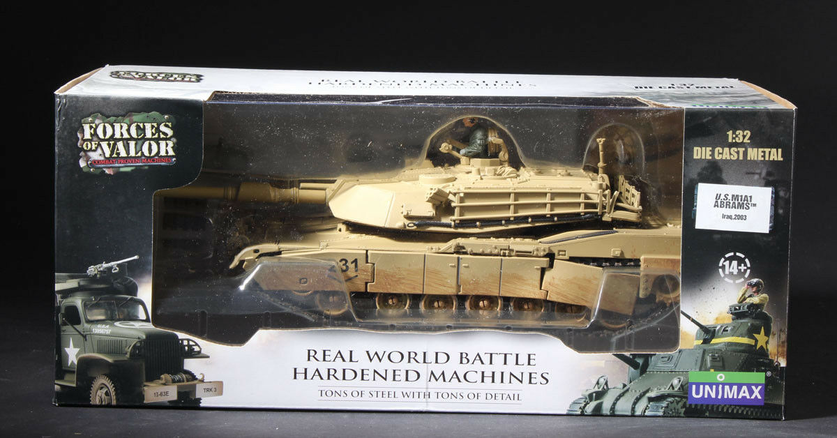 Forces of valor Diecast nos M1A1 Abrams tanque de Irak 2003 1 32 Estados Unidos envío