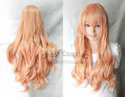 """Big Sale!32""""/80cm Long Wavy/Curly Cosplay Fashion Wig heat resistant 30Colors"""
