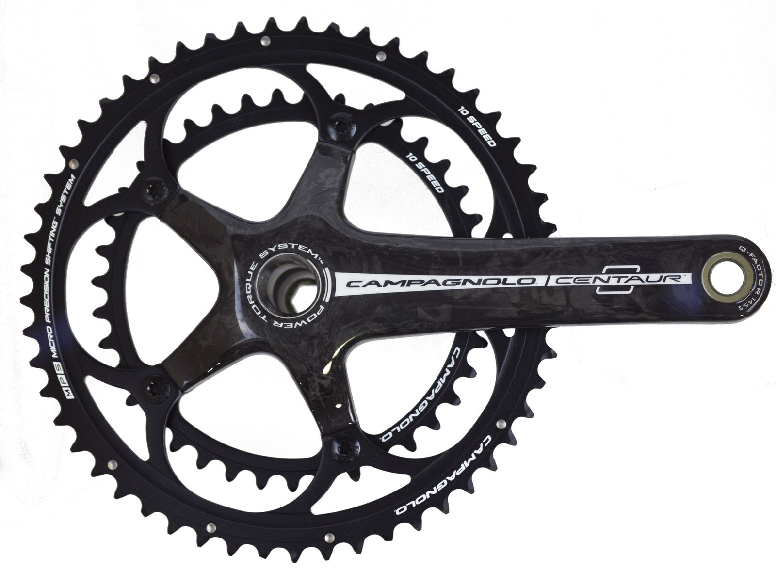 Campagnolo Centaur Carbon PowerTorque 10Speed Double Compact 3450  170mm