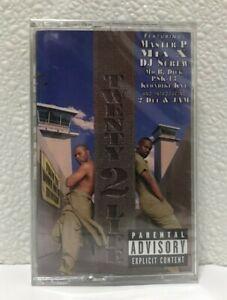 20-2-Twenty-Two-Life-NEW-Sealed-Rap-Cassette-Master-P-Hardcore-Gangsta-Hip-Hop