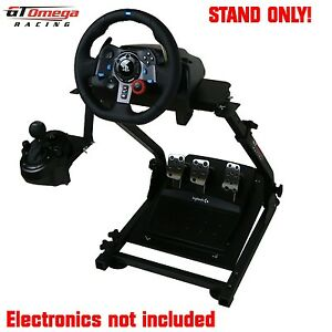 gt omega volant support pour logitech g29 racing wheel ps4 et pc pro v2 ebay. Black Bedroom Furniture Sets. Home Design Ideas