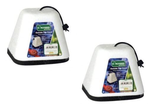 2x isolation thermique extérieur jardin robinet housse gel d/'hiver veste protecteur