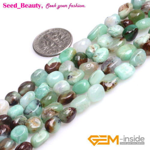 Freeform Baroque Natural Semi Precious Gemstone Potato Beads for Jewelry Making