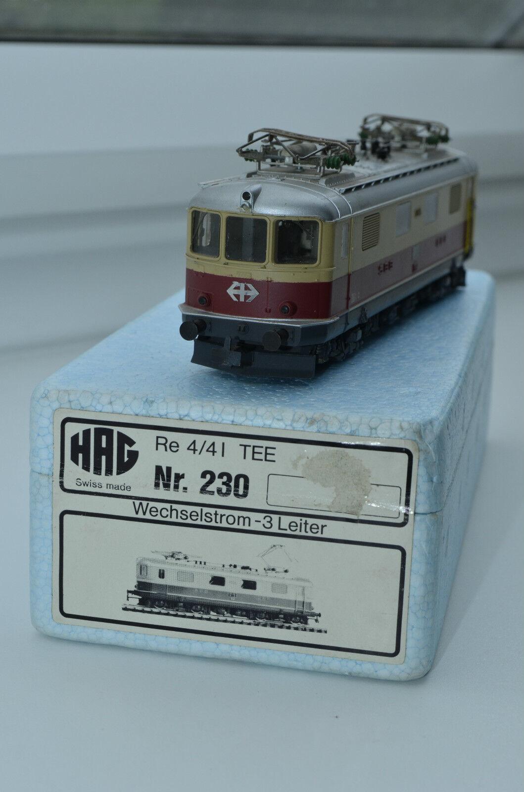 Hag 230 tren bala LOK Elektro Lok br.re4 4 35  embalaje original