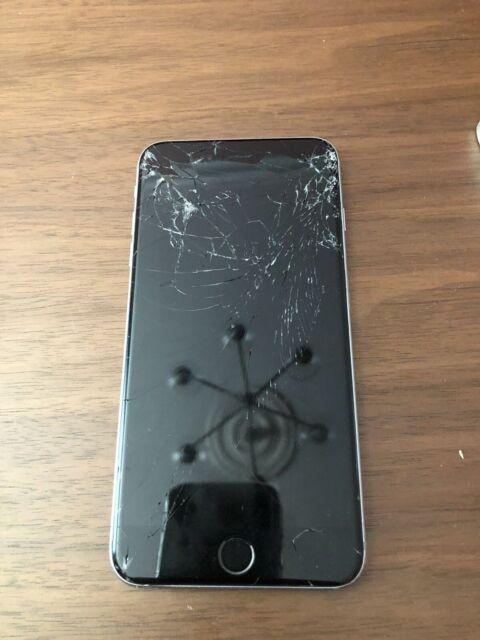 Apple iPhone 6s Plus 128GB sbloccato, completamente funzionante, schermo rotto