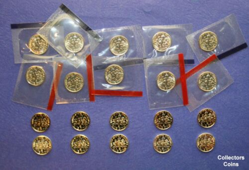2000-2004 Roosevelt Dime PDSS 20 Coin Set w 10 PD BU 5 Clad Silver Proofs