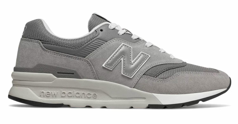 New Balance Men's CLASSICS 997 shoes Marblehead Silver CM997HCA d