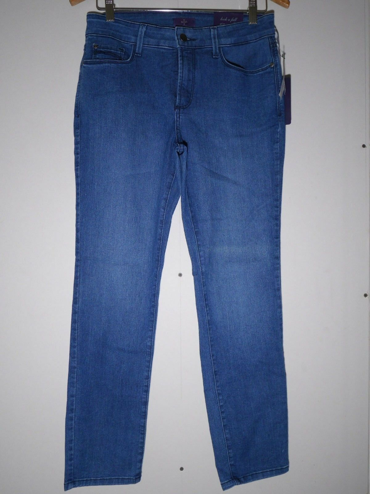 Not Your Daughter's Jeans NYDJ Alina Skinny Ankle Legging High Rise Jeans 4