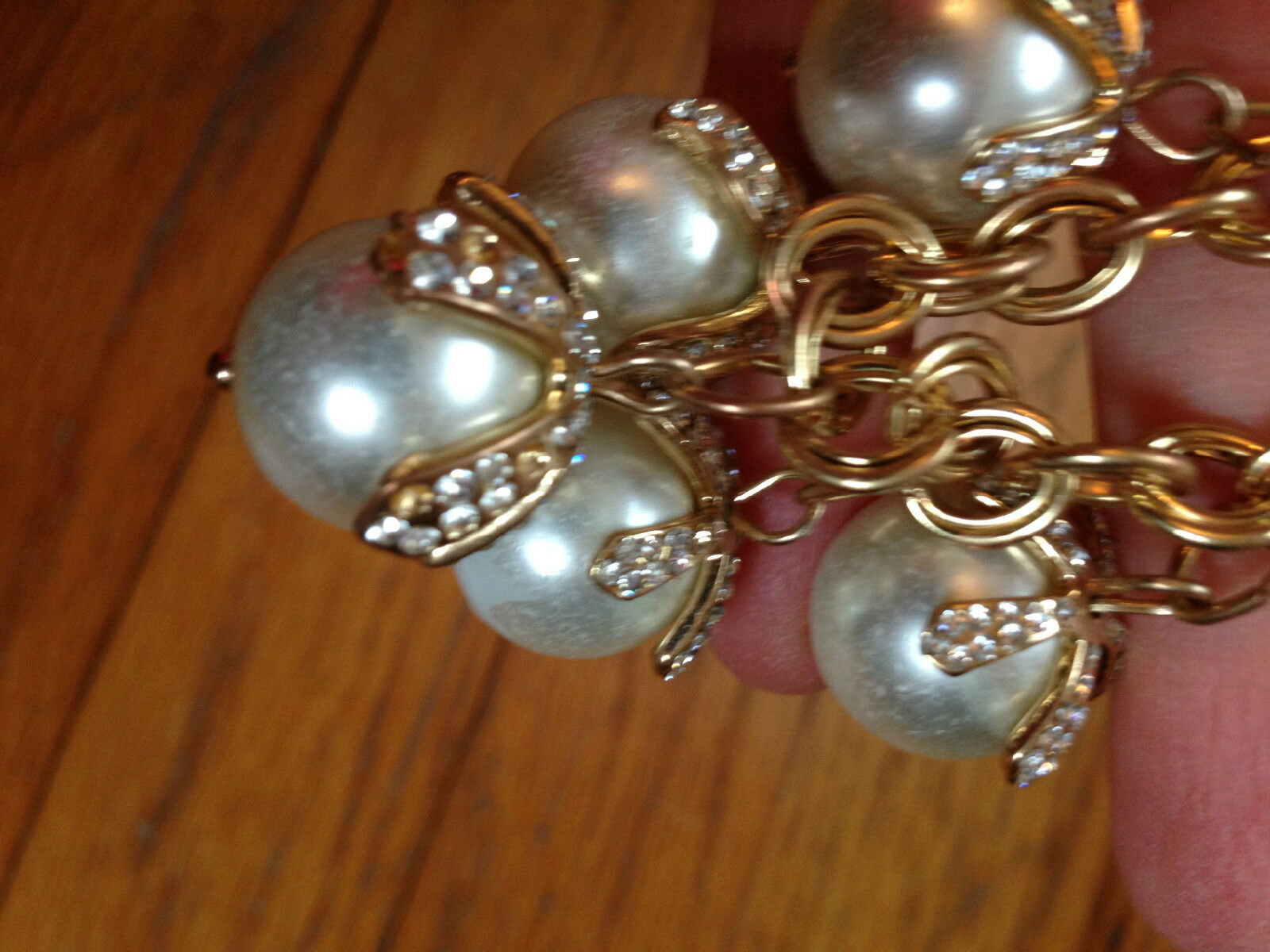 Costume Jewelry Lot Mixture of necklaces, and bra… - image 12