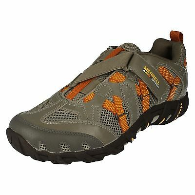 Merrell gestromt / orange Kinderschuhe Waterpro Z-Rap J85157