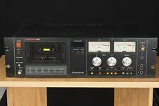 TASCAM 112 rack-mountable Pro Audio Cassette Deck Recorder Dolby