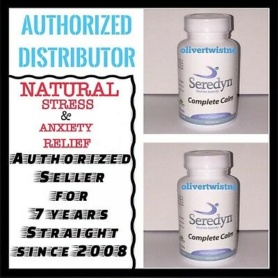 SEREDYN RELIEVES STRESS, PANIC ATTACKS AND ANXIETY 2 BOTTLES | eBay