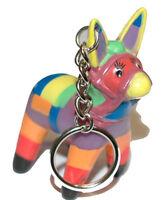Cute Rubber Fiesta Donkey Key Chain (kc049)