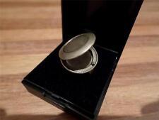 GOTHIC STASH POISON RING. PHOTO LOCKET RING IN JEWELLERY BOX. ADJUSTABLE SIZE