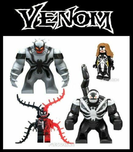 spiderman villain x4 set fits lego MARVEL ULTIMATE ANTI VENOM /& CARNAGE