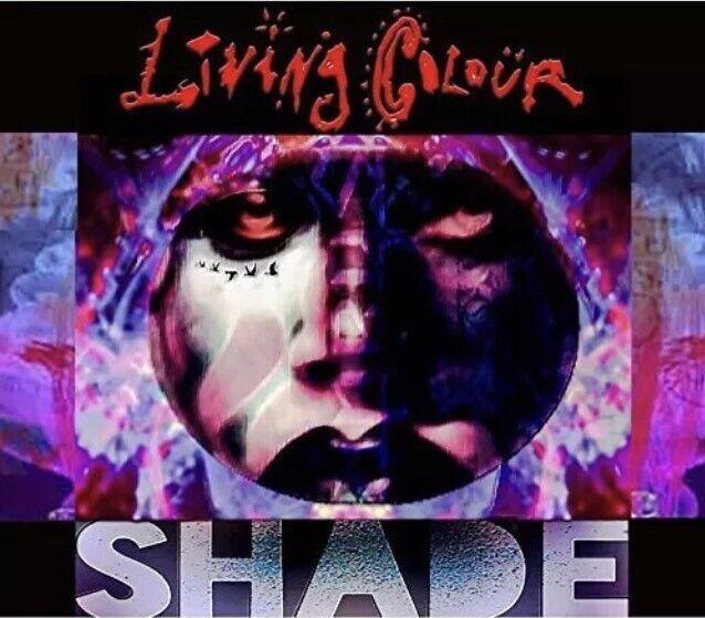LIVING COLOUR - SHADE  - CD Digipak - NEW & Sealed