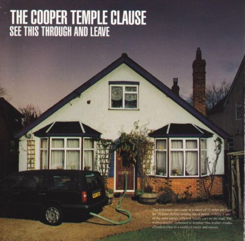 1 of 1 - cd-album, The Cooper Temple Clause - See This Through And Leave, 11 Tracks, Aus