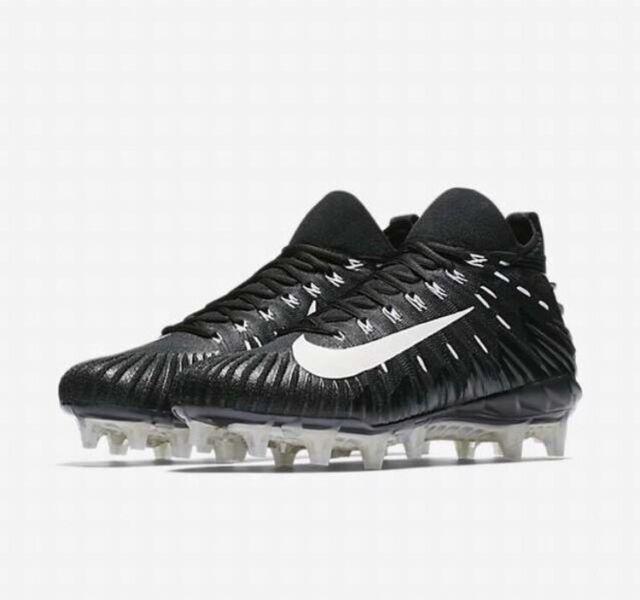 check out ff631 0ec00 Nike Alpha Menace Elite Raiders Black White Sz 15 NFL Football Cleats  871519-010 for sale online  eBay