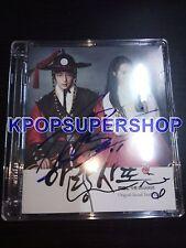Lee Joon Gi Shin Min Ah Autographed Signed Arang and the Magistrate OST Jun Ki