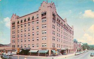 Image Is Loading C1950s Leland Hotel Richmond Indiana Postcard