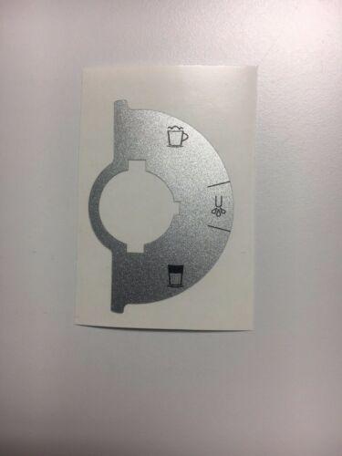 Jura Impressa PAC Profi Auto Cappuccinatore Tastensymbol Aufkleber Sticker