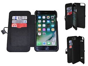 Handy-Tasche-Multifunktion-Huelle-Cover-Wallet-Case-iPhone-6-Plus-6s-Plus-Schwarz