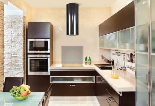 Halterungen Spritzschutz Glasrückwand Küchenrückwand Klarglas 90x60cm 6mm inkl