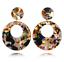 Acrylic-Geometric-Earrings-Statement-Charm-Dangle-Vintage-Punk-Earrings-For-Girl thumbnail 48
