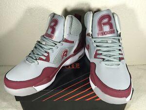 Rycore Zero 4  Men's sneakers / shoes Cool Gray/ Burgundy US 10.5