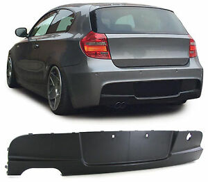 rear spoiler for use m sport bumper for bmw 1 series e81. Black Bedroom Furniture Sets. Home Design Ideas