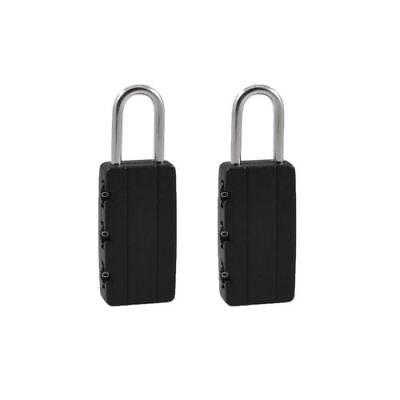 New 8CM Silver 4Digit Home Door Locker Toolbox Lock  Luggage Suitcase Padlock UK