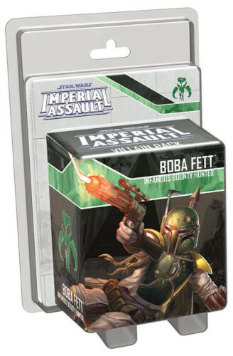 FFGSWI11 Star Wars Imperial Assault Boba Fett Villain Pack
