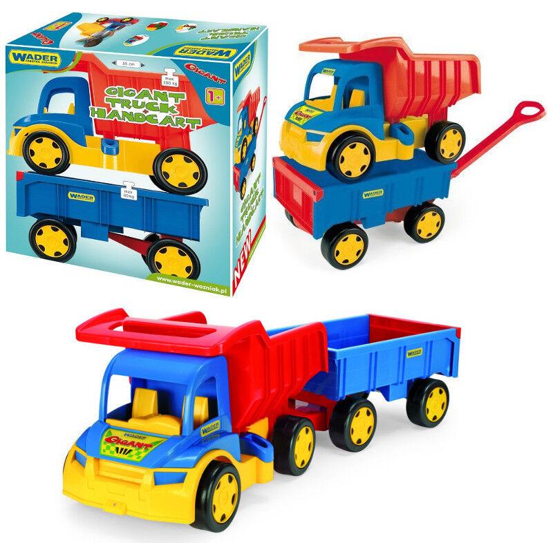 Specters Camion Avec Une Remorque Chariot 110 cm (43 Pouces)  Long Voiture chariot big toy  commandez maintenant profitez de gros rabais