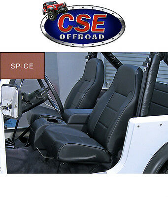 Front Standard Bucket Seat Jeep CJ Wrangler 1976-02 Spice 13401.37 Rugged Ridge