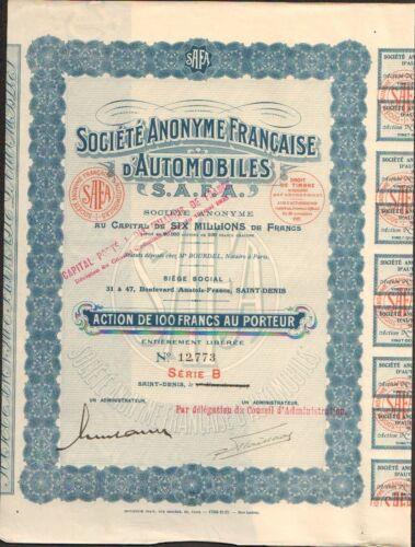 Automobiles S.A.F.A. M SAINT-DENIS