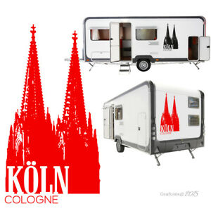 Details Zu Köln Autoaufkleber Aufkleber Sticker Wohnmobil Wohnwagen Kfz Tattoo Xl A107