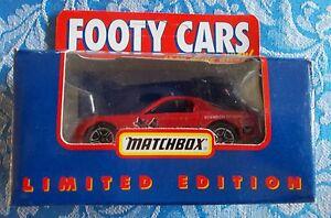 Matchbox Afl Cars Essendon Bombers Rx7 Ebay