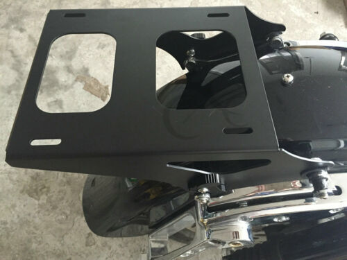 Detachable 2 Up Tour Pak Pack Mounting Luggage Rack For Harley Touring FL 14-18