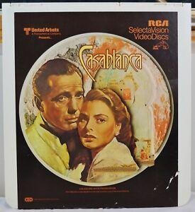 RCA-VideoDisc-CED-Casablanca-Movie-Warner-c-1943