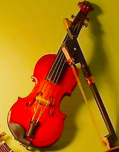 accessory Dolls House Miniature  Violin musical instrument 1:12 Streets Ahead