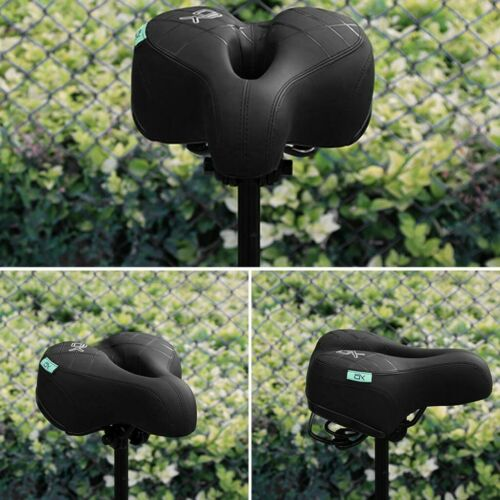 Mountain Bike Soft Seat Pad Cycling Saddle Road Cushion Breathable Ergonomic US