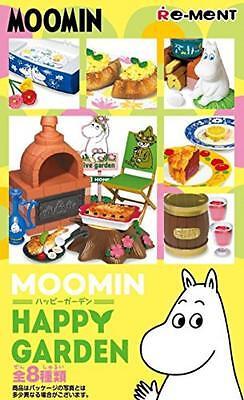 Japan New Re-ment Miniatures Moomin Happy Garden rement No.08