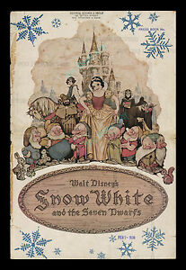 1938-Snow-White-and-the-Seven-Dwarfs-WALT-DISNEY-Campaign-Book-With-Herald